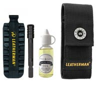 Deluxe Set - Black Oxide - Bit Kit, Extender, Multi-Tool Oil and Pouch Fits MUT, Charge, Wave and Skeletool