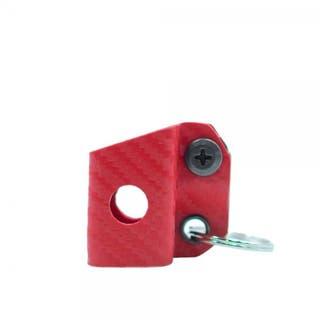 Kydex Keychain Sheath: Leatherman Squirt - Red