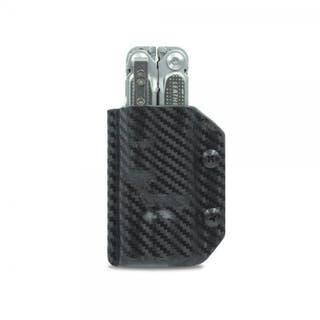 Kydex Sheath: Leatherman Free P4 - Black Carbon Fibre