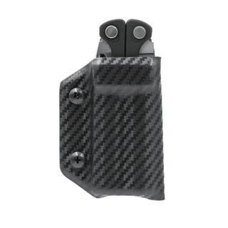 Kydex Sheath: Leatherman Charge / + Black Carbon Fibre
