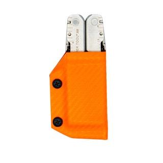 Kydex Sheath: Leatherman Super Tool 300 - Carbon Fibre Orange